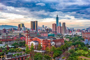 Taipei Skyline and University