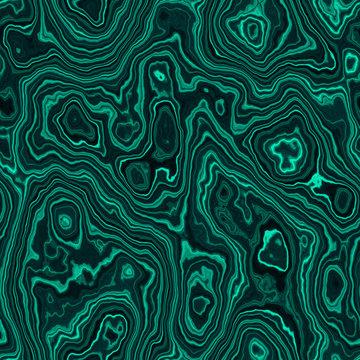Seamless malachite pattern