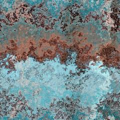 Seamless rusty metal pattern