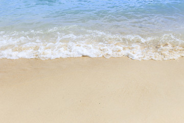 The beauty of the Andaman Sea. Sand texture background