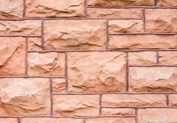 Sandstone Block Wall
