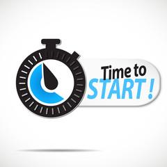 chrono : time to start