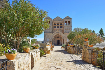 Church of the Transfiguration, Mount Tabor, Galilee, Israel