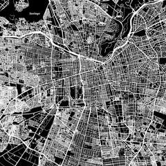 Santiago One Color Map