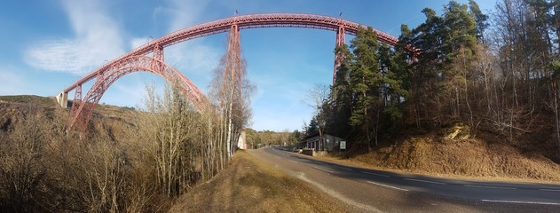 Photo Panoramique du Viaduc de Garabit
