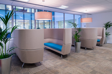 Comfortable Commercial Seating Area