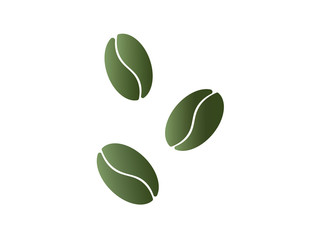 Coffee beans icon. Vector EPS 10
