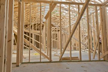 framing of new house