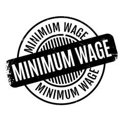 Minimum Wage rubber stamp