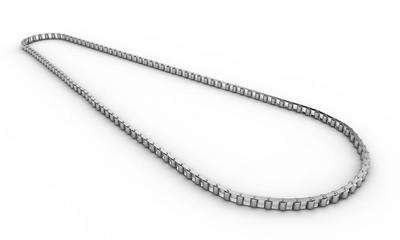 3d render of bike chain