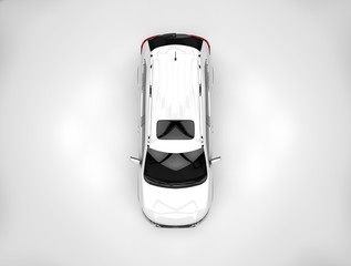 white car  top
