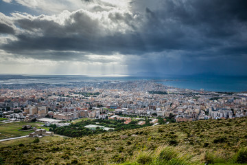Erice, Trapani, Sicily, Italy - Panoramic view