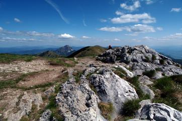 Slovak mountains Mala Fatra