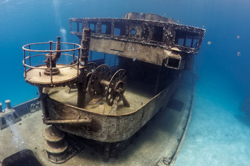 Garden Poster Shipwreck Wreck of the USS Kittiwake in Grand Cayman