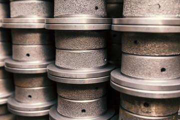 parts of cast aluminium