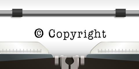 Copyright - droit d'auteur - écrivain - littérature - livre
