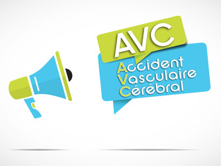 mégaphone : AVC