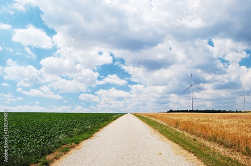 earth road fields countryside - photo #11