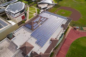 Solar power roof tops