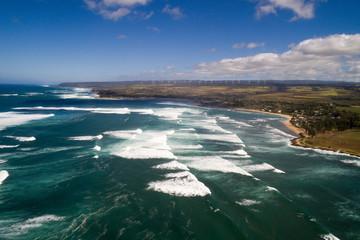 Aerial photo North Shore Oahu Hawaii