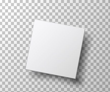 box isolated on transparent background . for your design and logo. Vector illustration