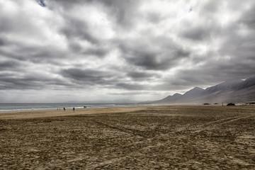 peasaggio desertico di fuerteventura
