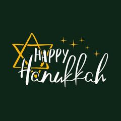Vector Hanukkah background illustration.