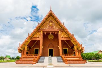 Wat Pah Sawang Wirawong Temple at Ubon Ratchathani, Thailand