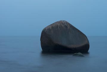 Ostsee ruhig, Herbst, Langzeitbelichtung