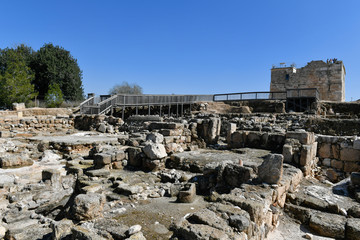 Ruins in Zippori NP, Israel