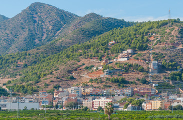 Rustic & rugged but beautiful living places in rural Spain.  Homes nestled in the hills & mountains of rural Spain.  Small town community and businesses in foothills and mountains of Spain.