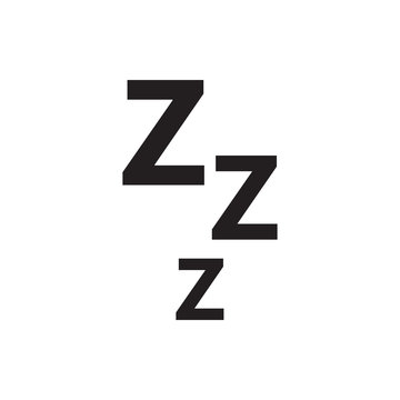 zzz icon illustration