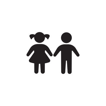 girl and boy icon