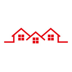 real estate house icon vector illustration design