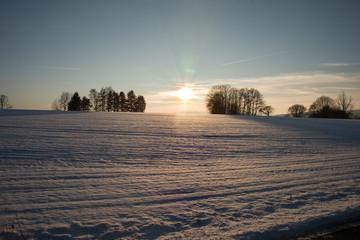 Winterlandschaft, Natur, Schnee, Sonne,