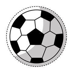 soccer ball isolated icon vector illustration design