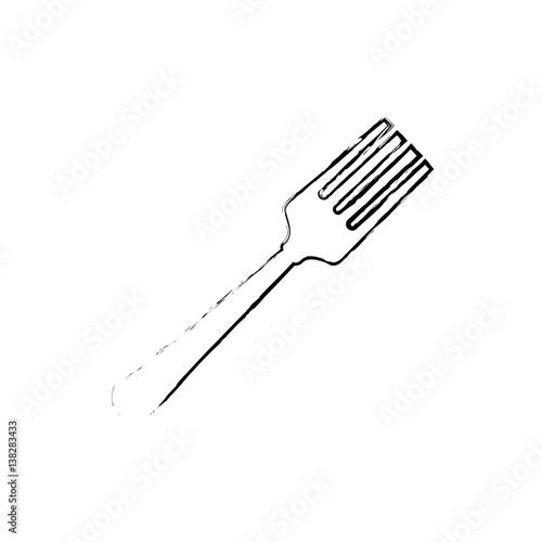 Quot restaurant cutlery utensil icon vector illustration