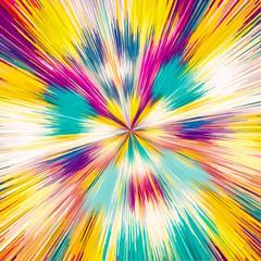 pink yellow blue purple geometric line pattern abstract background