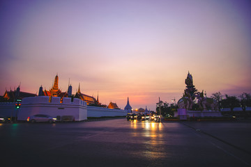 Sunset at Grand Palace
