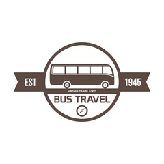 Travel, transportation logo