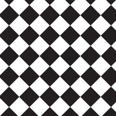crosswise black squares pattern background
