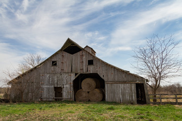 Midwest Hay Barn