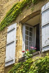 Medieval buildings in Sarlat-la-Caneda; Dordogne; France
