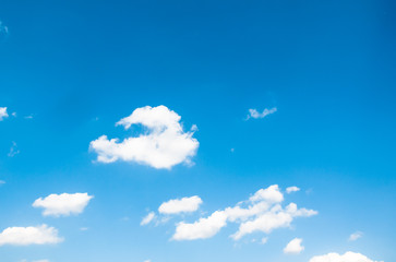 nature abstract of white cloud and blue sky background.