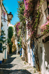 Rural streets in Cadaques, Spain