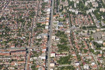 Osijek from the air