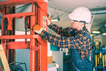 Forklift Repairing Work