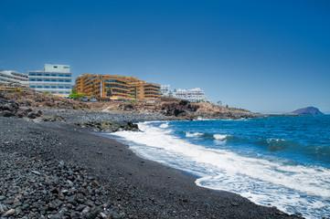 Exclusive golf resort coastal approach, Amarilla Golf, Tenerife, Canary Islands