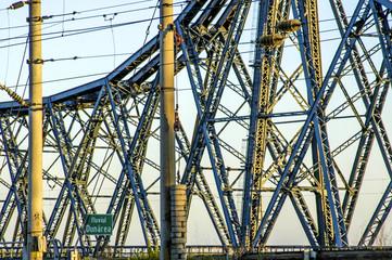 Danube bridge, Romania, Black Sea Coast, Constanta area
