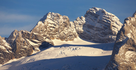 View of Dachstein Group, Austria